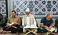 Ramadan 1439 AH, Qur'an reading at Goharshad Mosque, Mashhad - 29 May 2018 35.jpg
