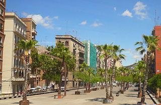 Sants-Badal human settlement in Sants-Montjuïc, Barcelona, Barcelonès, Spain