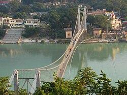 Ramjhula - bridge over the Ganga.jpg