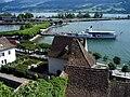 Rapperswil - Schlosshügel-Hafen 20070712 007.JPG