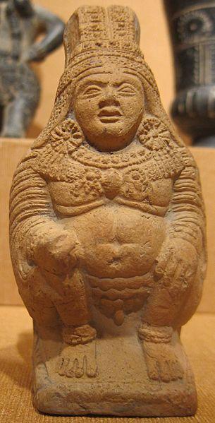 File:Rattle in the shape of Kubera, India, West Bengal, Chandraketugarh, c. 200 BCE, terracotta, HAA.JPG
