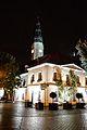 Ratusz nocą, widok od ul. Stary Rynek.jpg