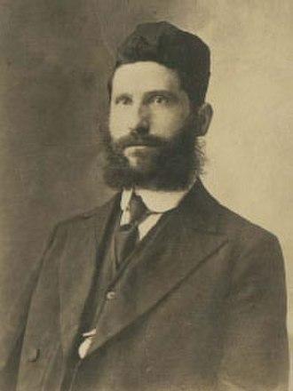 Eliezer Silver - Rabbi Eliezer Silver in his younger years