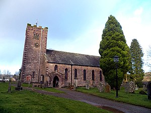 Ravenstonedale - Image: Ravenstonedale St Oswald's church