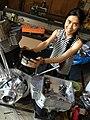 Rear Piston Of Mario Kleff's Custom V-twin Pro Street Motorcycle Engine.jpg