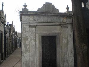 Miguel de Azcuénaga - Cenotaph of Azcuénaga at the La Recoleta Cemetery.