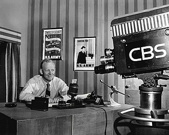 Red Barber - As head of CBS Sports and host of his television program, Red Barber's Club House, 1949.