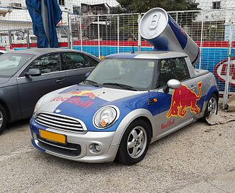Red Bull - Red Bull car