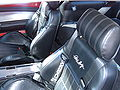 Red Shelby GT500E seats.JPG