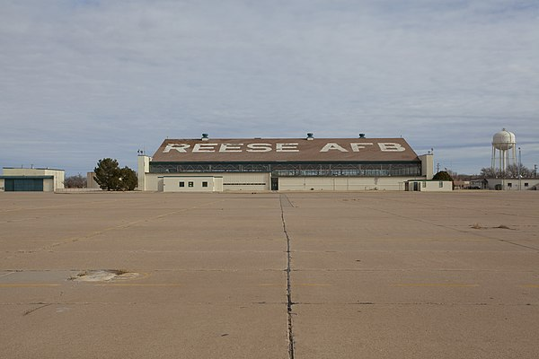 lubbock reese afb chat An unprecendented remediation challenge on former air force base in lubbock, texas.