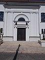 Reformed church, SW entry, 2020 Sárospatak.jpg