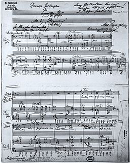 <i>Requiem</i> (Reger) 1915 late Romantic composition of Max Reger