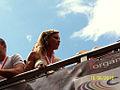 Regina Halmich auf der CSD-Parade.jpg