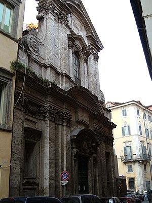 San Girolamo della Carità - Façade