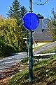 Reichenau an der Rax - Schneedörfl - aufklappbares Verkehrszeichen.jpg