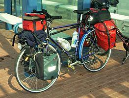 35c900431da3 Kerékpár csomagokkal