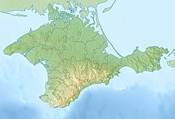 1927 Crimean earthquakes is located in Crimea