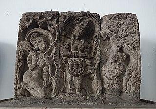 Relief of Sudhamala Statue