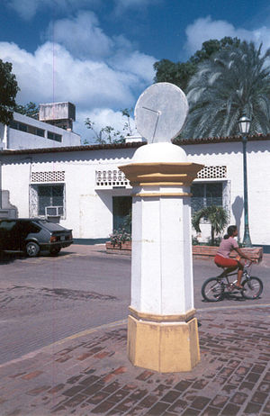 La Asunción - City clock tower