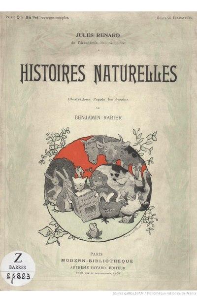 File:Renard - Histoires naturelles, 1909.djvu
