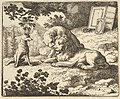 Renard Lies that he Gave the Ram Various Precious Objects that Were Meant for the Lion and Lioness from Hendrick van Alcmar's Renard The Fox MET DP837676.jpg
