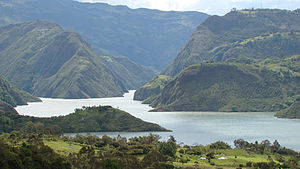 Guavio Province - Guavio Reservoir