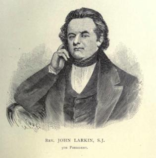 John Larkin (Jesuit) 19th-century Jesuit priest and educationist