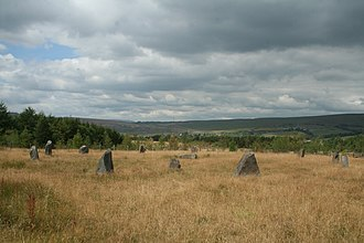 Rhymney Valley - Rhymney Valley Gorsedd Stones