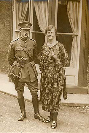 Richard Mulcahy - Mulcahy and his wife Min in 1922