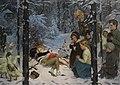 Richard Borrmeister Kinder im Schnee.jpg
