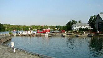 St. Joseph, Ontario - Marina of Richards Landing