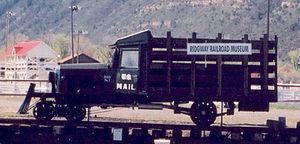 Galloping Goose (railcar) - Image: Ridgway RR Museum