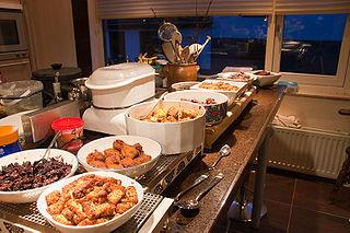 Indo cuisine Fusion of Indonesian and European cuisine