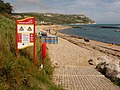 Ringstead, beach notices - geograph.org.uk - 1416605.jpg