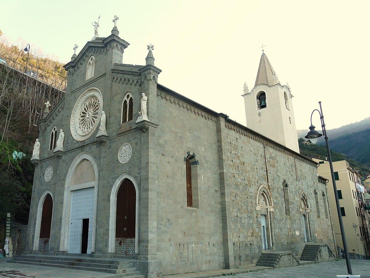 file riomaggiore-chiesa san giovanni battista-corpo jpg