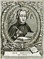 Ritratto di Don Antonio De Solis in un incisione a bulino di Suor Isabella Piccini.jpg