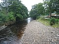 River Wear from footbridge at Stanhope - geograph.org.uk - 1420918.jpg