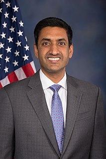 Ro Khanna U.S. Representative from California