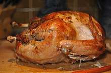 roasted turkey from Wikimedia