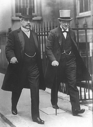 Robert Borden - Borden and Winston Churchill in 1912