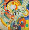 Robert Delaunay - Manège de cochons - 1922 - Musée national d'art moderne.jpg
