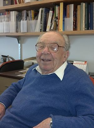 Robert Fano - Prof. Fano in his office at MIT in 2012