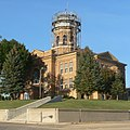 Roberts County, South Dakota, courthouse from SW 1.jpg