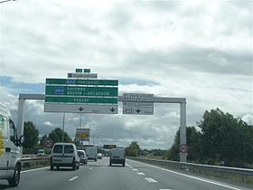 Image illustrative de l'article Autoroute A630 (France)