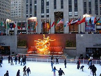 Economy of New York City - Rockefeller Center is home to NBC Studios.