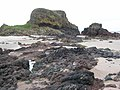 Rocky headland at the eastern end of Macharioch Bay - geograph.org.uk - 484780.jpg
