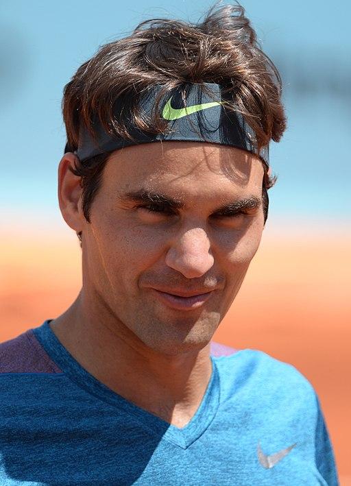 Roger Federer 2015 (cropped)