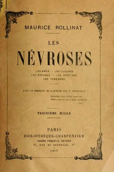 File:Rollinat - Les Névroses (Fasquelle 1917).djvu