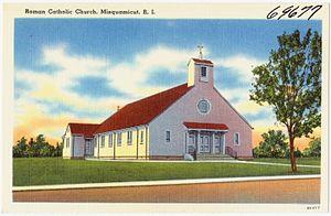 John Forbes Hogan - St. Clare Church, Misquamicut, 1940.