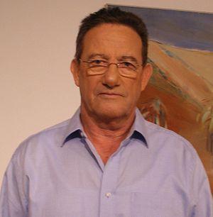 Ron Ben-Yishai - Ben-Yishai in Givatayim Theater, 2008.